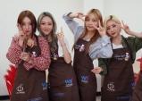 걸그룹 에이지엠(AZM), 국군 장병들을 찾아가 사랑의 밥차 봉사활동 및 위문 공연 펼쳐!