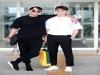 """두 남자의 뜨거운 우정 여행"""" 씨엔블루 강민혁, 이정신  동반 입대 앞둔 이들의 훈훈한 공항패션"""