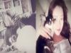 반려견과 다정한 모습을 보여준 배우 최성희 SNS사진 화제