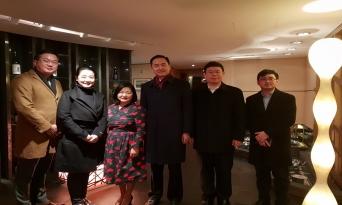 중국대사관 김연광 부대사 ,신경숙 중국어학원 원장과 교류간담회 개최