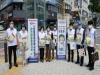 신경숙이사장,대전 유성온천역에서 마스크전달행사참석